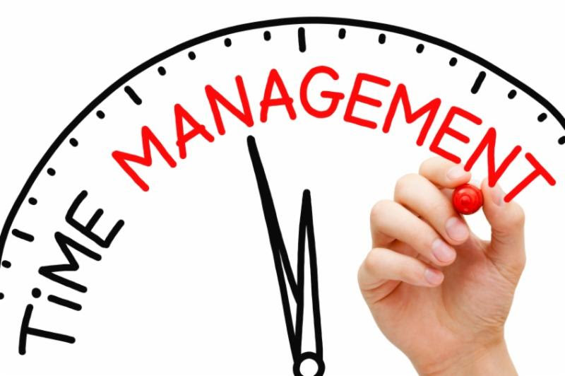 Having trouble with time management?